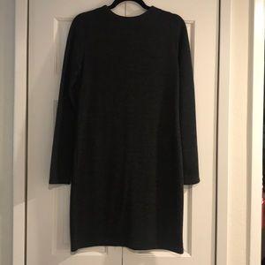 NWOT Zara gray sweater dress size L